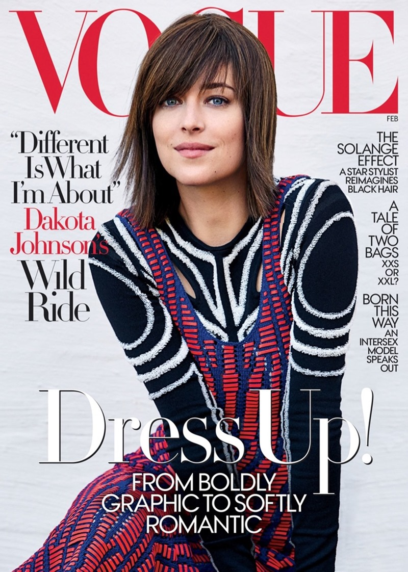 VOGUE MAGAZINE Dakota Johnson by Patrick Demarchelier. Camilla Nickerson, February 2017, www.imageamplified.com, Image Amplified1