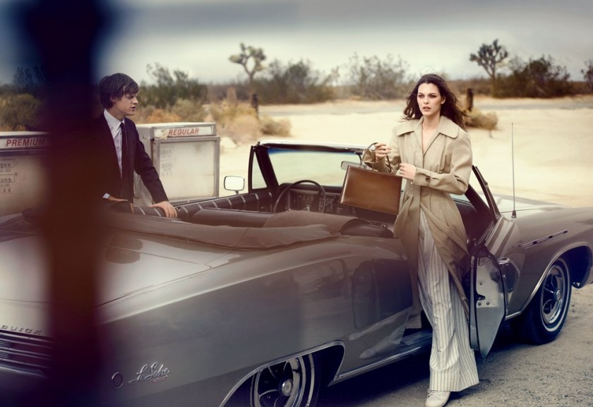 VOGUE MAGAZINE Vittoria Ceretti & Lucas Hedges by Peter Lindbergh. Grace Coddington, Michael Philouze, February 2017, www.imageamplified.com, Image amplified9