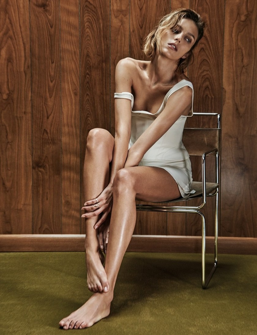 VOGUE MEXICO Anja Rubik by Chris Colls. Valentina Collado, February 2017, www.imageamplified.com, Image Amplified17