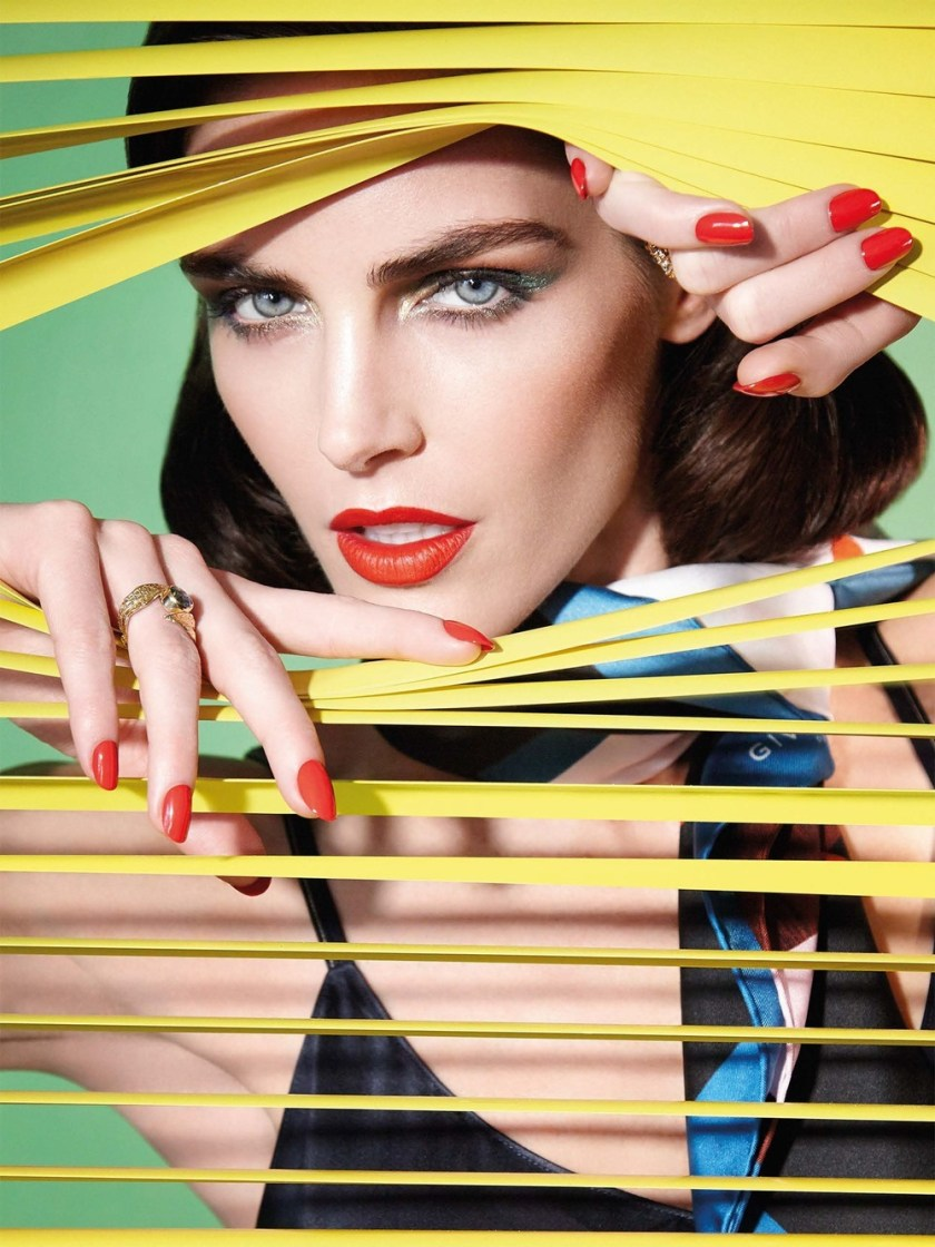 VOGUE TAIWAN Hilary Rhoda by Enrique Vega. Stacey Cunningham, January 2017, www.imageamplified.com, Image Amplified4