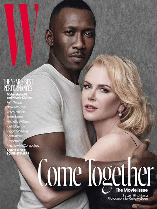 W MAGAZINE The Movie Issue by Craig McDean. Edward Enninful, January 2017, www.imageamplified.com, Image Amplified5