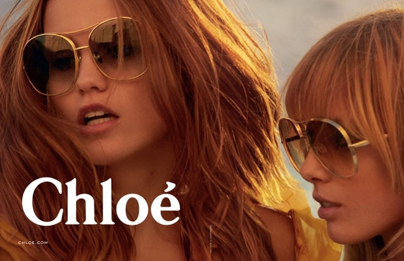 CAMPAIGN Luna Bijl & Ulrikke Hoyer for Chloe Spring 2017 by Charlotte Wales. Jane How, www.imageamplified.com, Image Amplified2