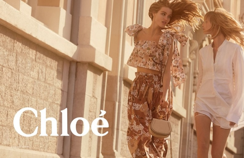 CAMPAIGN Luna Bijl & Ulrikke Hoyer for Chloe Spring 2017 by Charlotte Wales. Jane How, www.imageamplified.com, Image Amplified1