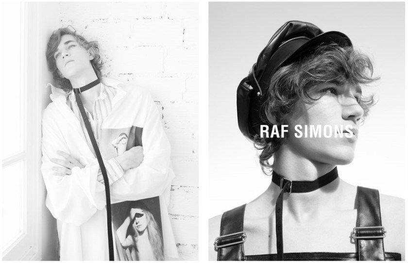 CAMPAIGN Raf Simons Spring 2017 by Willy Vanderperre. Olivier Rizzo, www.imageamplified.com, Image Amplified2