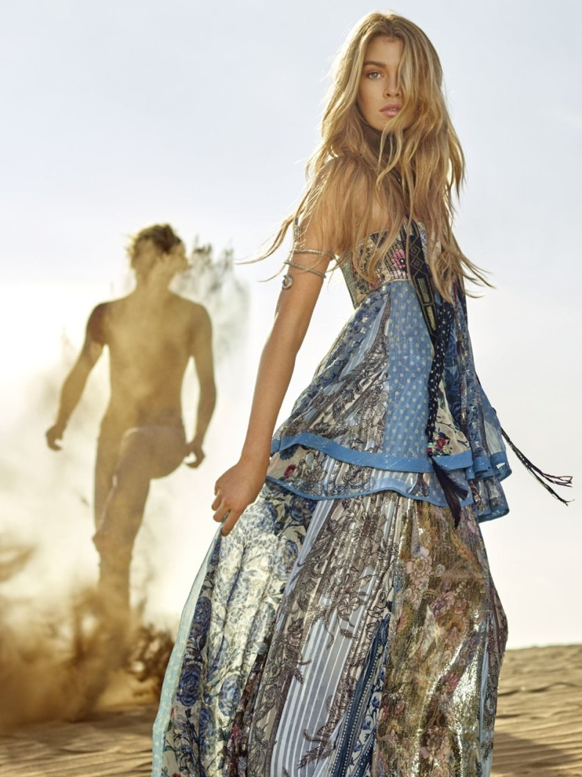 CAMPAIGN Stella Maxwell & Jordan Barrett for Roberto Cavalli Spring 2017 by Morelli Brothers. www.imageamplified.com, Image Amplified2
