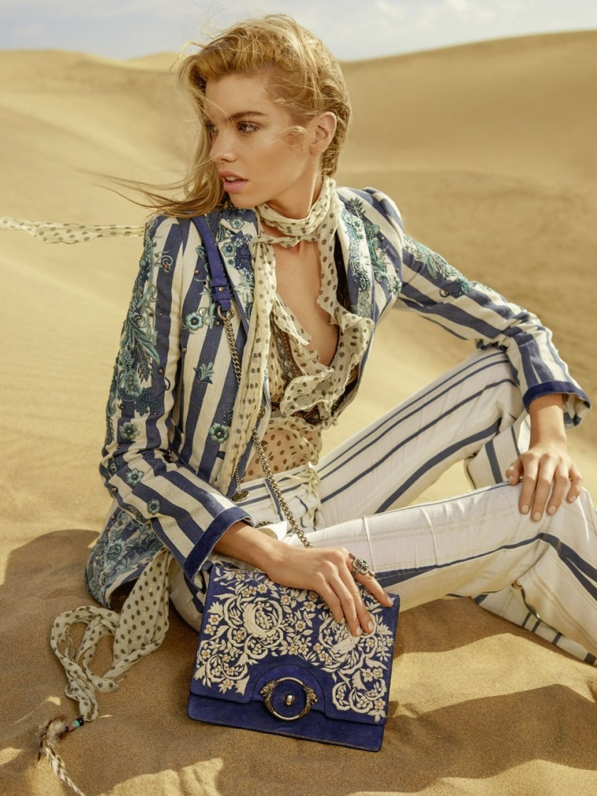 CAMPAIGN Stella Maxwell & Jordan Barrett for Roberto Cavalli Spring 2017 by Morelli Brothers. www.imageamplified.com, Image Amplified8