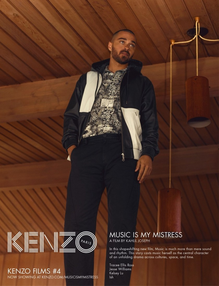 CAMPAIGN Tracee Ellis Ross, Jesse Williams & Kelsey Lu for Kenzo Spring 2017 by Durimel. Julia Sara Jamois, www.imageamplified.com, Image Amplified11