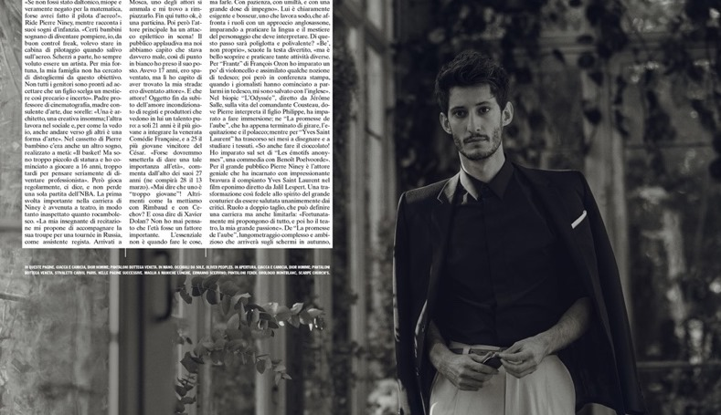 L'UOMO VOGUE Pierre Niney by Norman Jean Roy. Robert Rabensteiner, Spring 2017, www.imageamplified.com, Image Amplified3