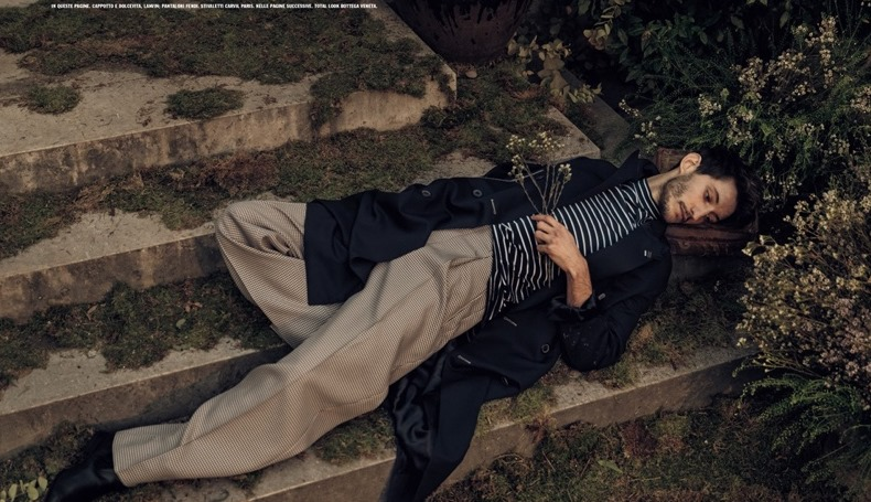 L'UOMO VOGUE Pierre Niney by Norman Jean Roy. Robert Rabensteiner, Spring 2017, www.imageamplified.com, Image Amplified5