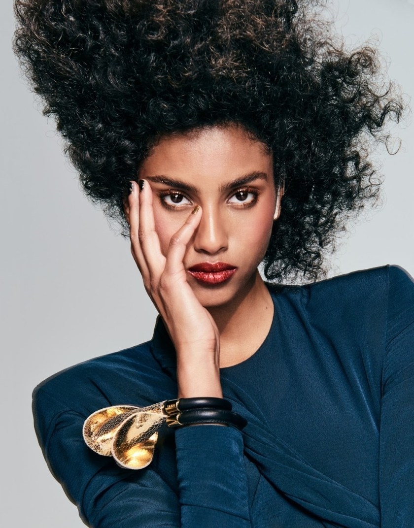 THE EDIT Imaan Hammam by Chris Colls. Tracy Taylor, February 2017, www.imageamplified.com, Image Amplified4