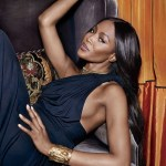 TOWN & COUNTRY: Naomi Campbell by Max Vadukul