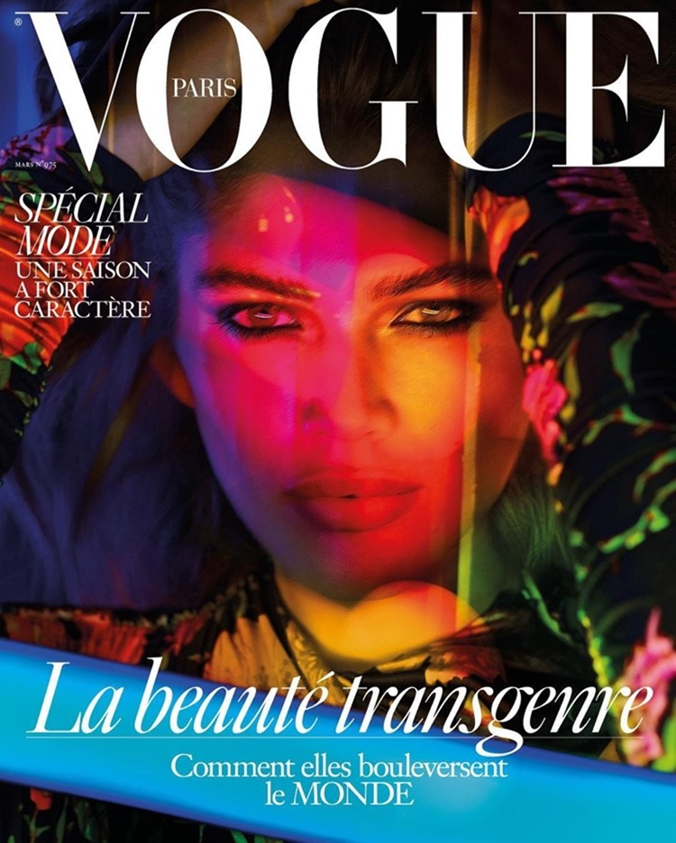 VOGUE PARIS Valentina Sampaio by Mert & Marcus. March 2017, www.imageamplified.com, Image Amplified2