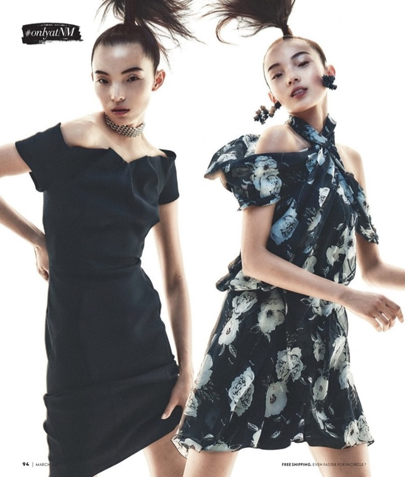 CATALOGUE Xiao Wen Ju for Neiman Marcus 'The Book'by Andreas Sjodin. March 2017, www.imageamplified.com, Image Amplified13