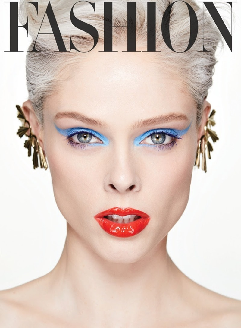FASHION MAGAZINE Coco Rocha by Owen Bruce. George Antonopoulos, April 2017, www.imageamplified.com, Image Amplified2