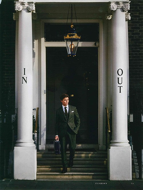 GENTLEMANS JOURNAL Oliver Cheshire by Adam Russell. Holly Macnaghten, Spring 2017, www.imageamplified.com, Image Amplified4