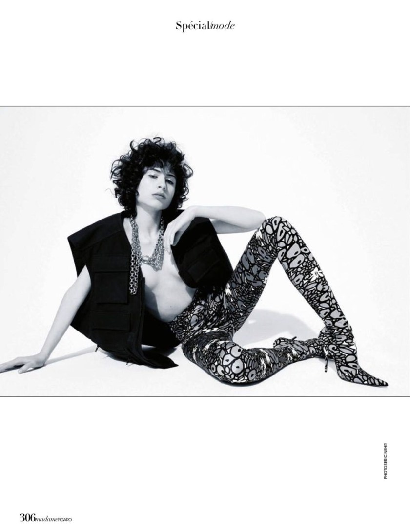 MADAME FIGARO Ana Arto by Eric Nehr. Cecile Martin, Spring 2017, www.imageamplified.com, Image Amplified1