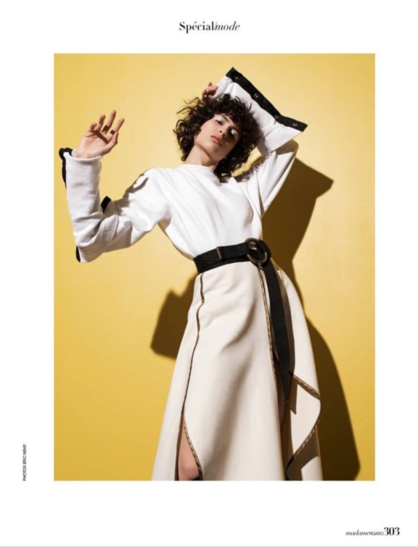 MADAME FIGARO Ana Arto by Eric Nehr. Cecile Martin, Spring 2017, www.imageamplified.com, Image Amplified4