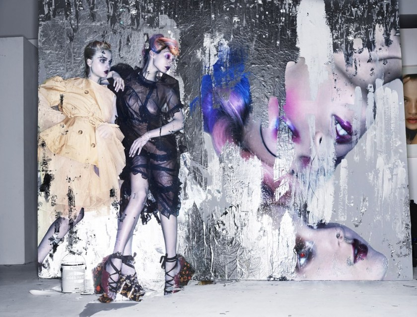 STERN MAGAZINE Anna Cleveland, Madison Stubbington & Jazelle by Nick Knight. Julia Von Boehm, February 2017, www.imageamplified.com, Image Amplified13