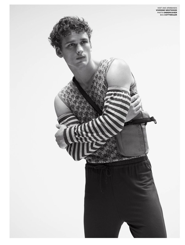 VMAN MAGAZINE Simon Nessman by Benjamin Alexander Huseby. Tom Guinness, Spring 2017, www.imageamplified.com, Image Amplified3