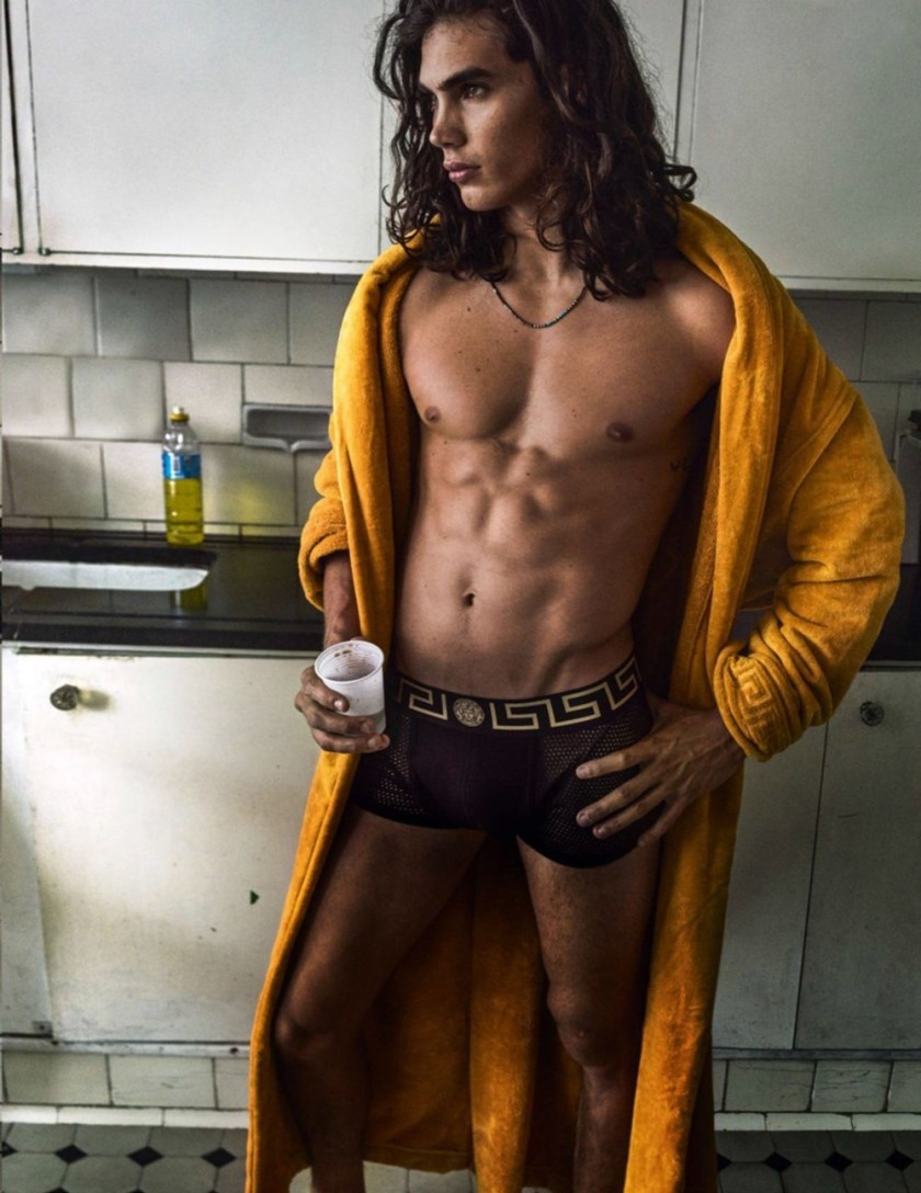 VOGUE HOMMES City of the Gods by Mario Testino. Anastasia Barber, Spring 2017, www.imageamplified.com, Image Amplified17