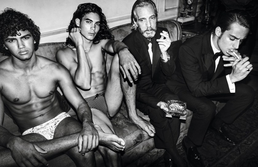 VOGUE HOMMES City of the Gods by Mario Testino. Anastasia Barber, Spring 2017, www.imageamplified.com, Image Amplified22