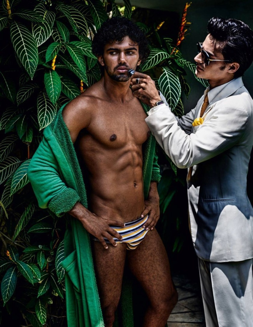 VOGUE HOMMES City of the Gods by Mario Testino. Anastasia Barber, Spring 2017, www.imageamplified.com, Image Amplified23