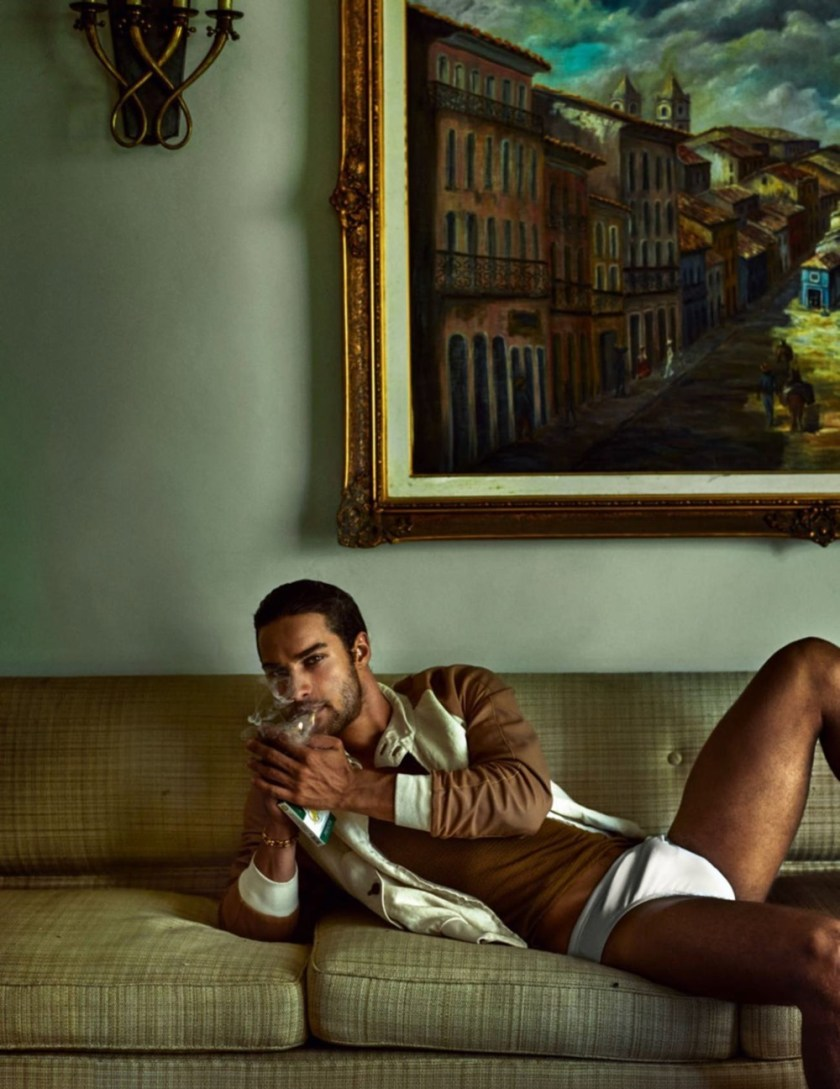 VOGUE HOMMES City of the Gods by Mario Testino. Anastasia Barber, Spring 2017, www.imageamplified.com, Image Amplified30