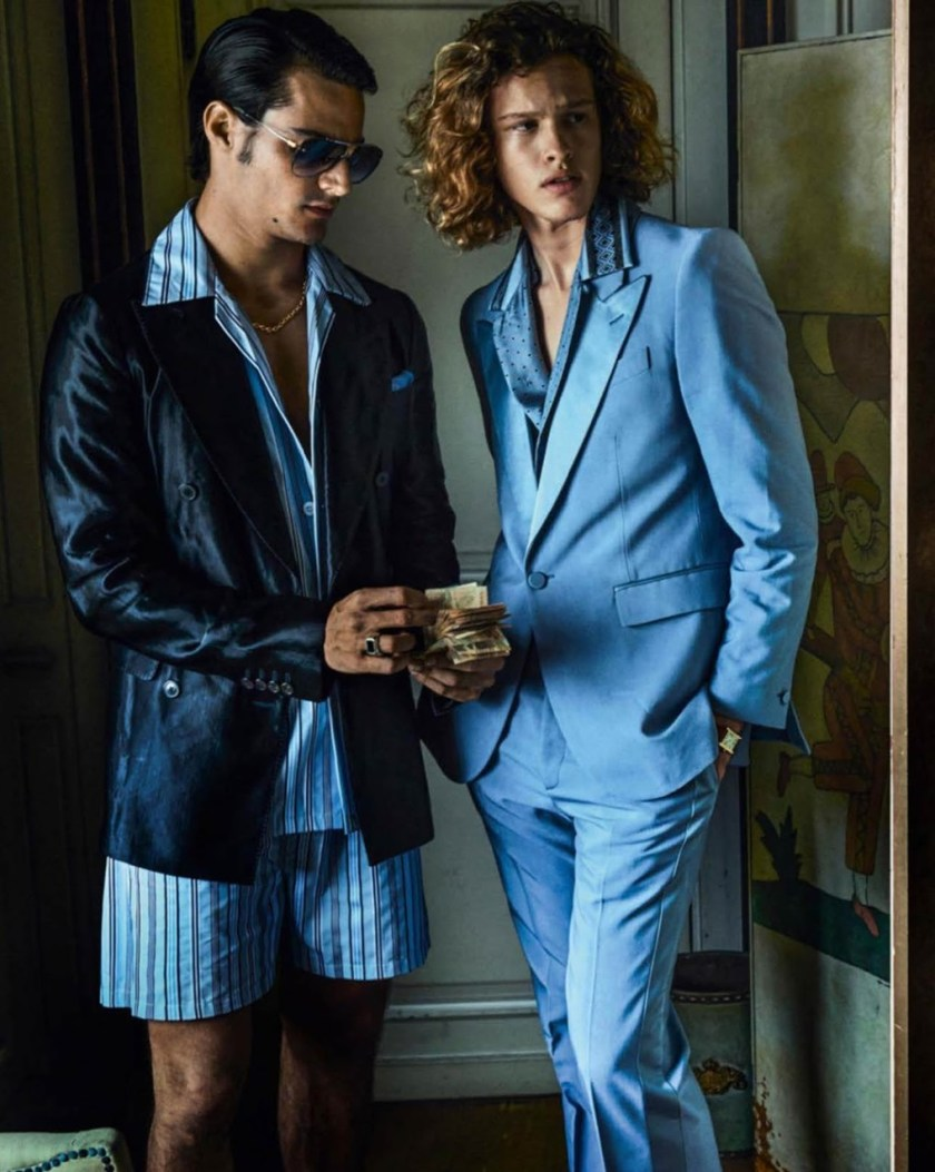 VOGUE HOMMES City of the Gods by Mario Testino. Anastasia Barber, Spring 2017, www.imageamplified.com, Image Amplified35