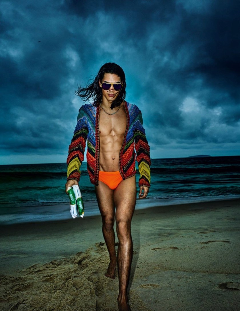 VOGUE HOMMES City of the Gods by Mario Testino. Anastasia Barber, Spring 2017, www.imageamplified.com, Image Amplified7