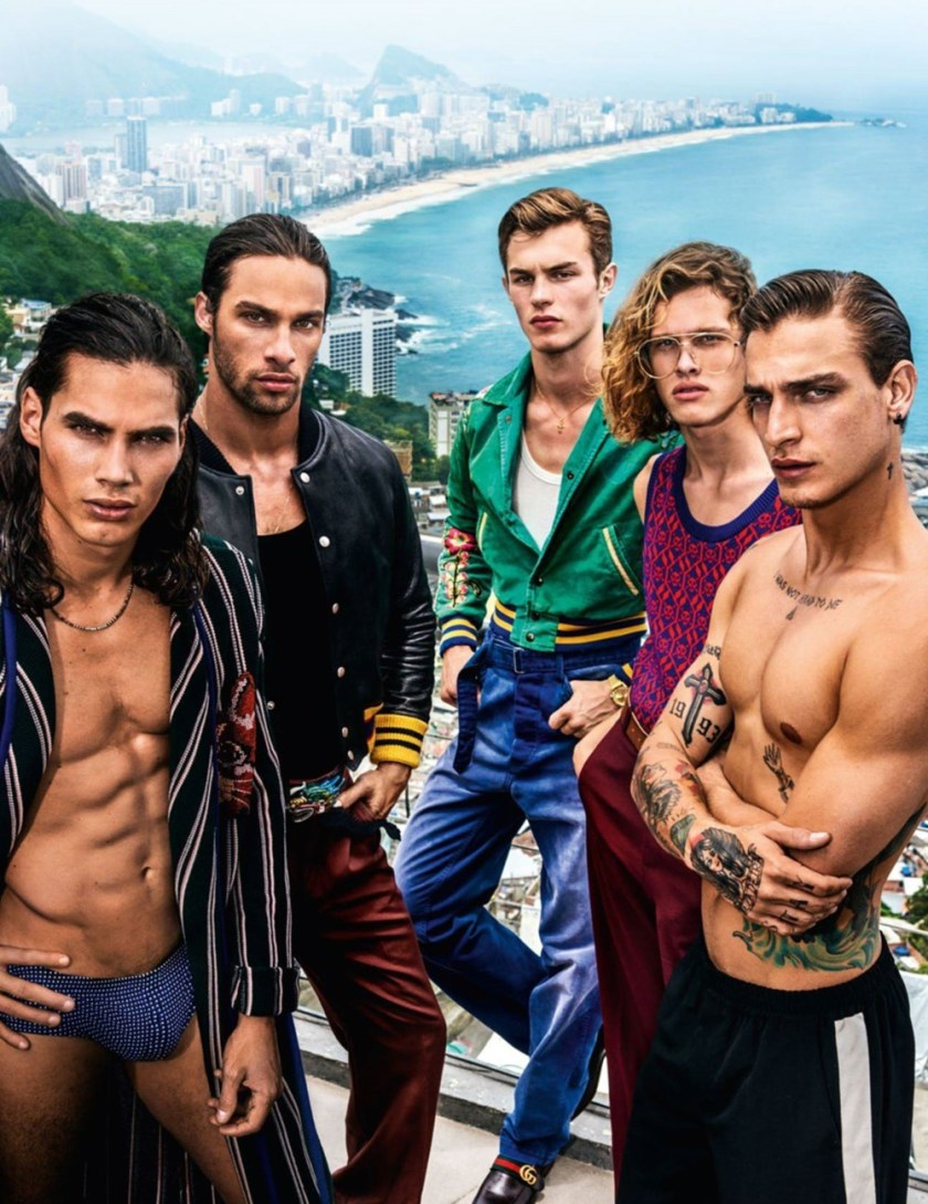 VOGUE HOMMES City of the Gods by Mario Testino. Anastasia Barber, Spring 2017, www.imageamplified.com, Image Amplified33