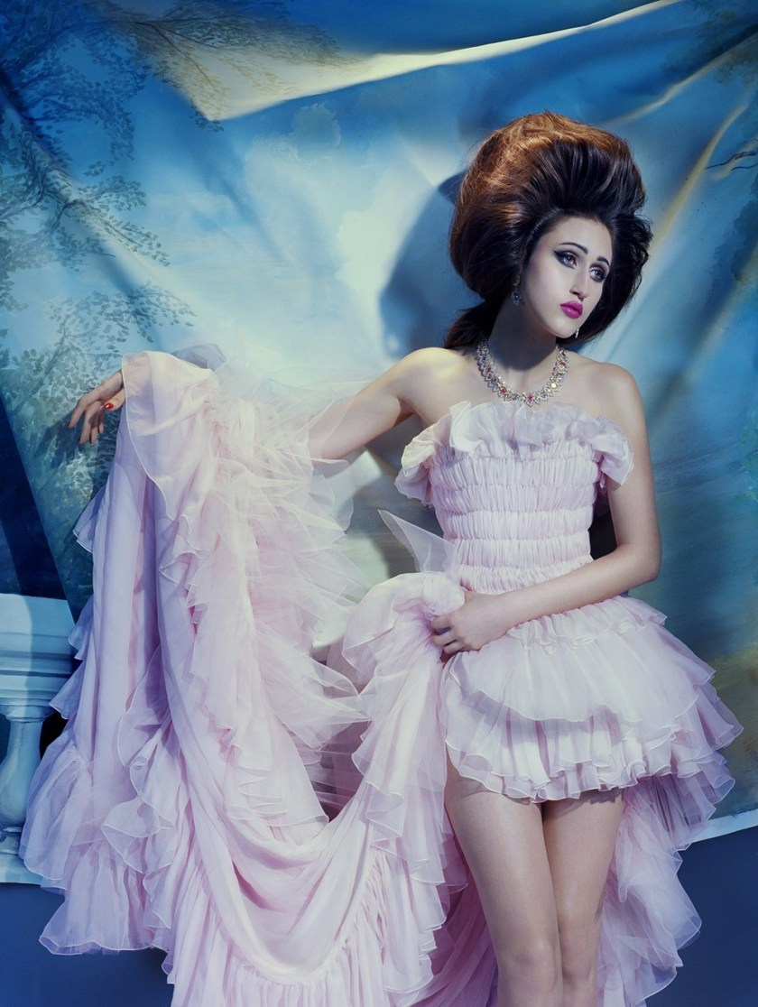 VOGUE ITALIA Anna Cleveland by Miles Aldridge. Alice Gentilucci, March 2017, www.imageamplified.com, Image Amplified3