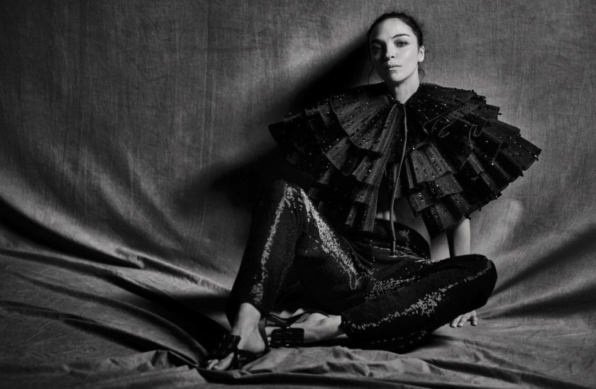 VOGUE ITALIA Mariacarla Boscono by Peter Lindbergh. George Cortina, March 2017, www.imageamplified.com, Image Amplified1
