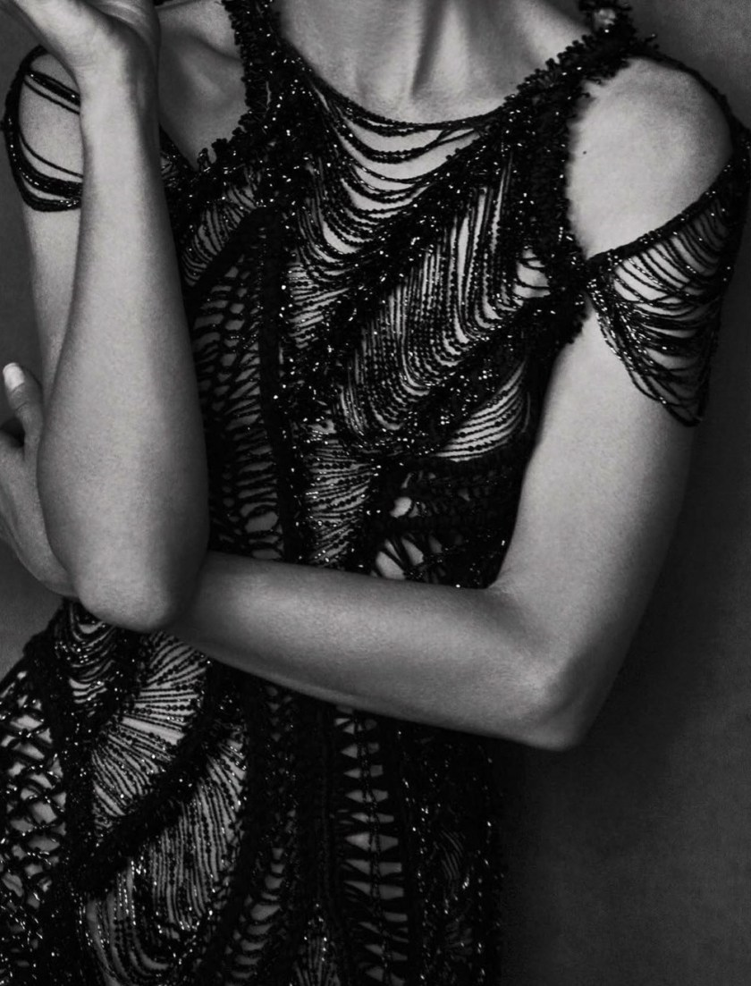 VOGUE ITALIA Mariacarla Boscono by Peter Lindbergh. George Cortina, March 2017, www.imageamplified.com, Image Amplified5