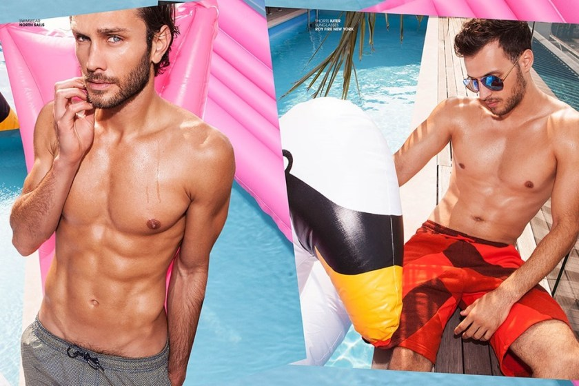 ADON MAGAZINE Pool Boys by Michele de Andreis. Spring 2017, www.imageamplified.com, Image Amplified5
