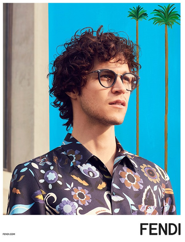 CAMPAIGN Miles McMillan for Fendi Spring 2017 by Mel Bles. Julian Ganio, www.imageamplified.com, Image Amplified5