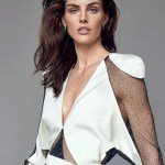 DRESS TO KILL MAGAZINE: Hilary Rhoda by Greg Swales