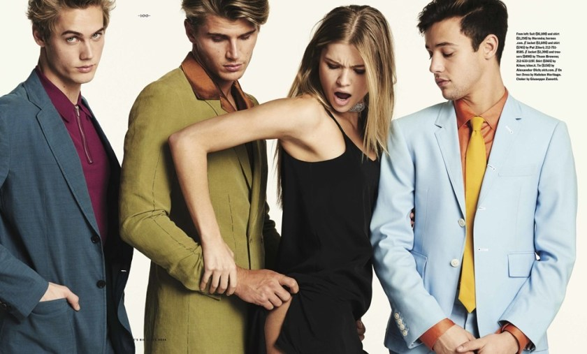 ESQUIRE BLACK BOOK Neels Visser, Cameron Dallas & Twan Kuyper by Christian Anwander, Matthew Marden, Spring 2017, www.imageamplified.com, Image Amplified6