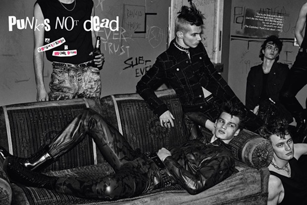 GQ SPAIN Punk's not Dead by Giampaolo Sgura. Miguel Arnau, April 2017, www.imageamplified.com, Image Amplified