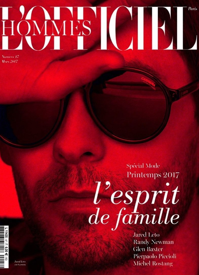 L'OFFICIEL HOMMES PARIS Jared Leto by Thomas Whiteside. Nicolas Klam, Spring 2017, www.imageamplified.com, Image Amplified8
