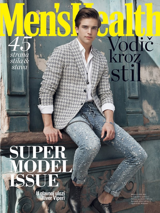 MEN'S HEALTH SERBIA River Viiperi by Sinem Yazici. Corey Kelly, April 2017, www.imageamplified.com, Image Amplified