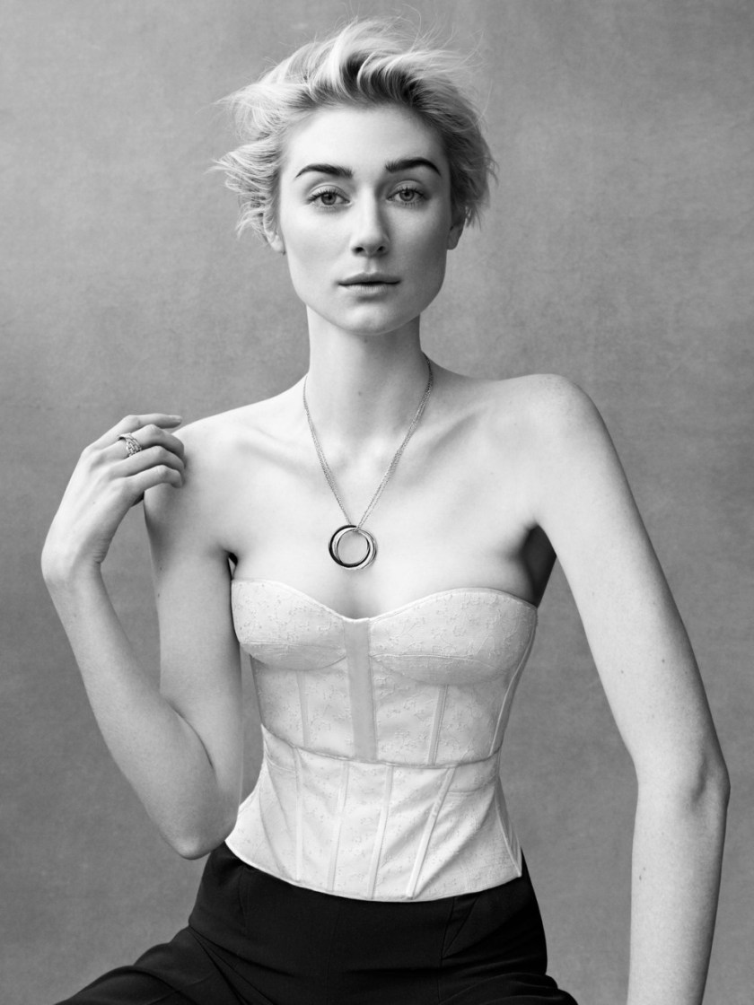 PORTER MAGAZINE Elizabeth Debicki by Bjorn Ioos. Morgan Pilcher, Summer 2017, www.imageamplified.com, image Amplified3
