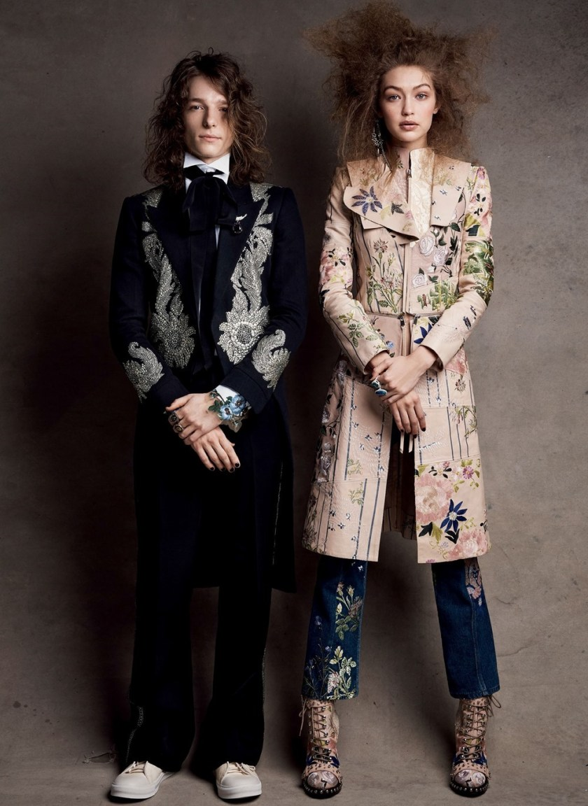 VOGUE MAGAZINE Craft Culture by Patrick Demarchelier. Tabitha Simmons, April 2017, www.imageamplified.com, Image Amplified2