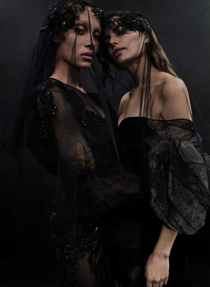 VOGUE SPAIN Cameron Russell & Adwoa Aboah by Emma Summerson. Patti Wilson, April 2017, www.imageamplified.com, Image Amplified20