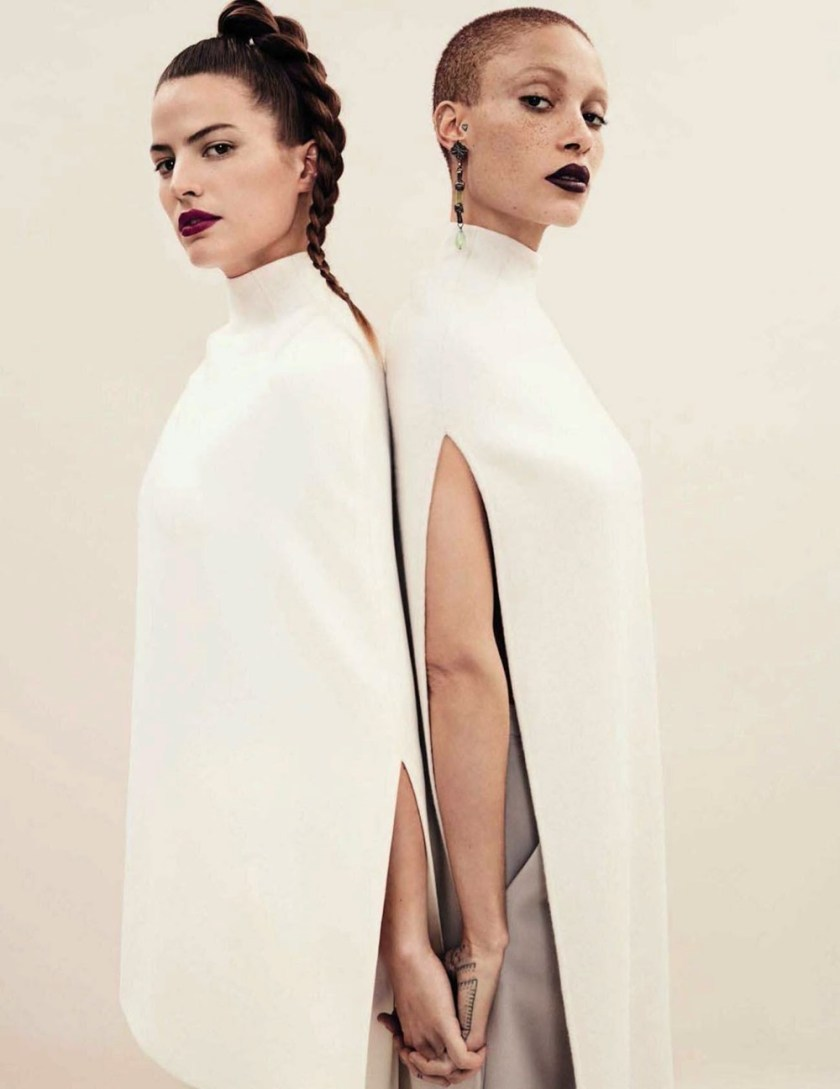 VOGUE SPAIN Cameron Russell & Adwoa Aboah by Emma Summerson. Patti Wilson, April 2017, www.imageamplified.com, Image Amplified6