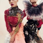 VOGUE SPAIN: Cameron Russell & Adwoa Aboah by Emma Summerton