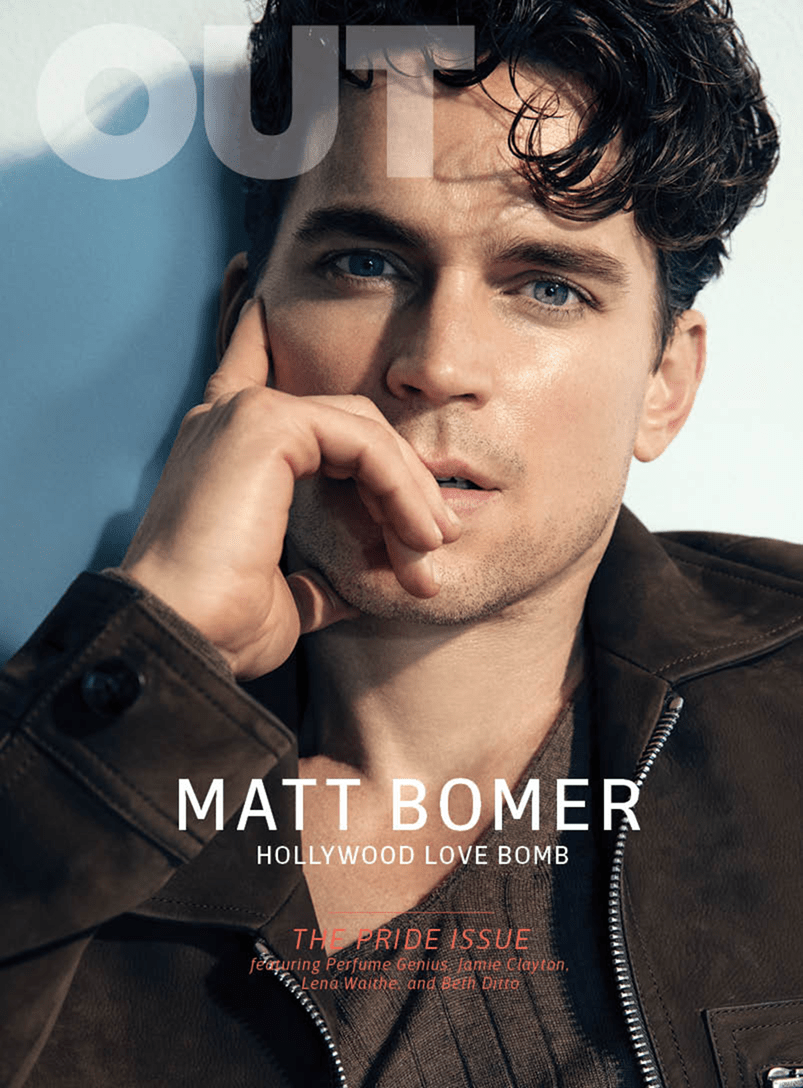 OUT MAGAZINE Matt Bomer by Doug Inglish. Grant Woolhead, Spring 2017, www.imageamplified.com, Image amplified6