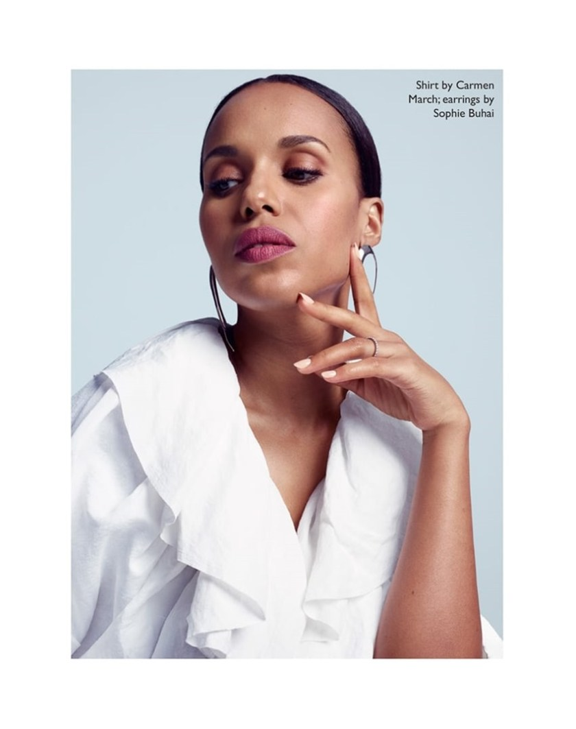 THE EDIT Kerry Washington by Kerry Hallihan. Tracy Taylor, Summer 2017, www.imageamplified.com, Image Amplified3
