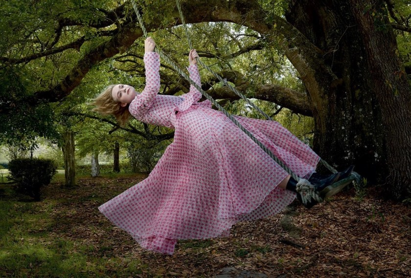 VOGUE MAGAZINE Elle Fanning by Annie Leibovitz. Grace Coddington, June 2017, www.imageamplified.com, Image Amplified2