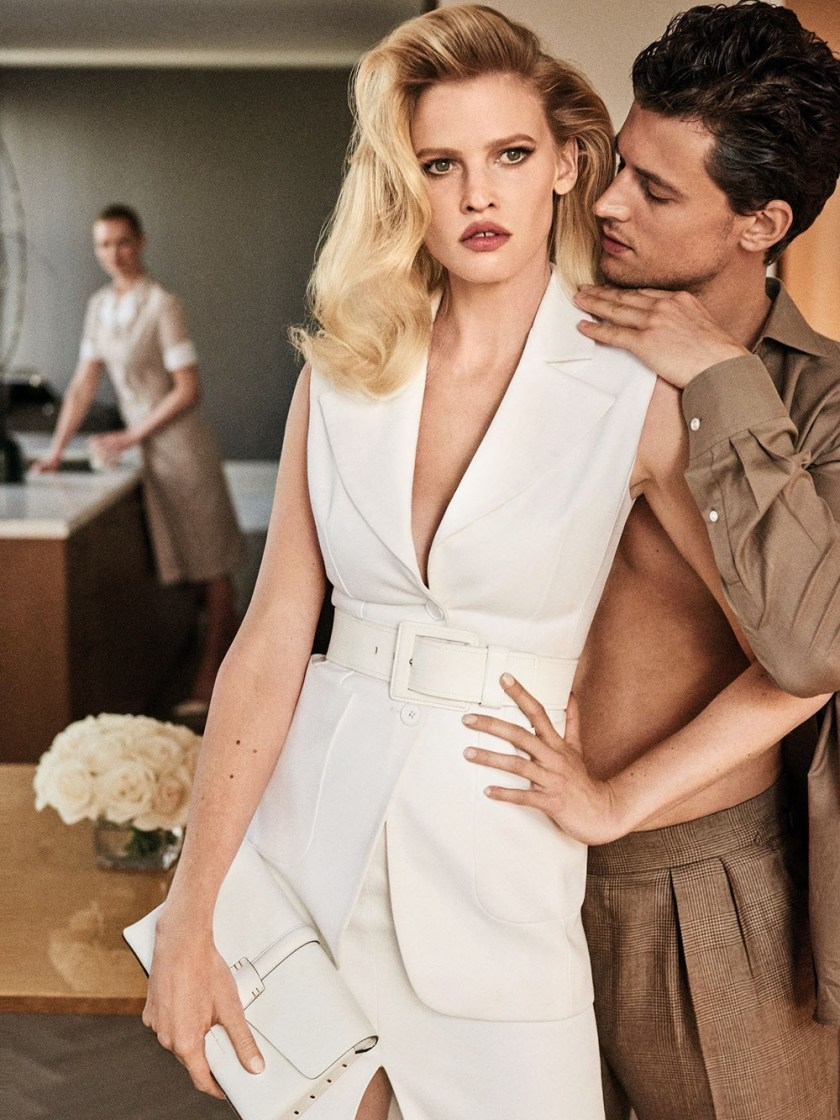 VOGUE MEXICO Lara Stone & Garrett Neff by Giampaolo Sgura. Patrick Mackie, May 2017, www.imageamplified.com, Image Amplified7