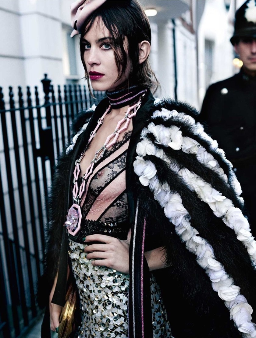 VOGUE UK Alexa Chung by Mario Testino. Lucinda Chambers, June 2017, www.imageamplified.com, Image Amplified2